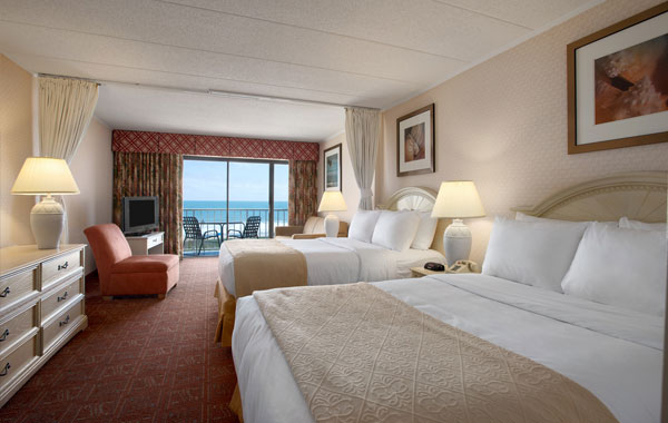 Quality Inn Oceanfront Room - Ocean City